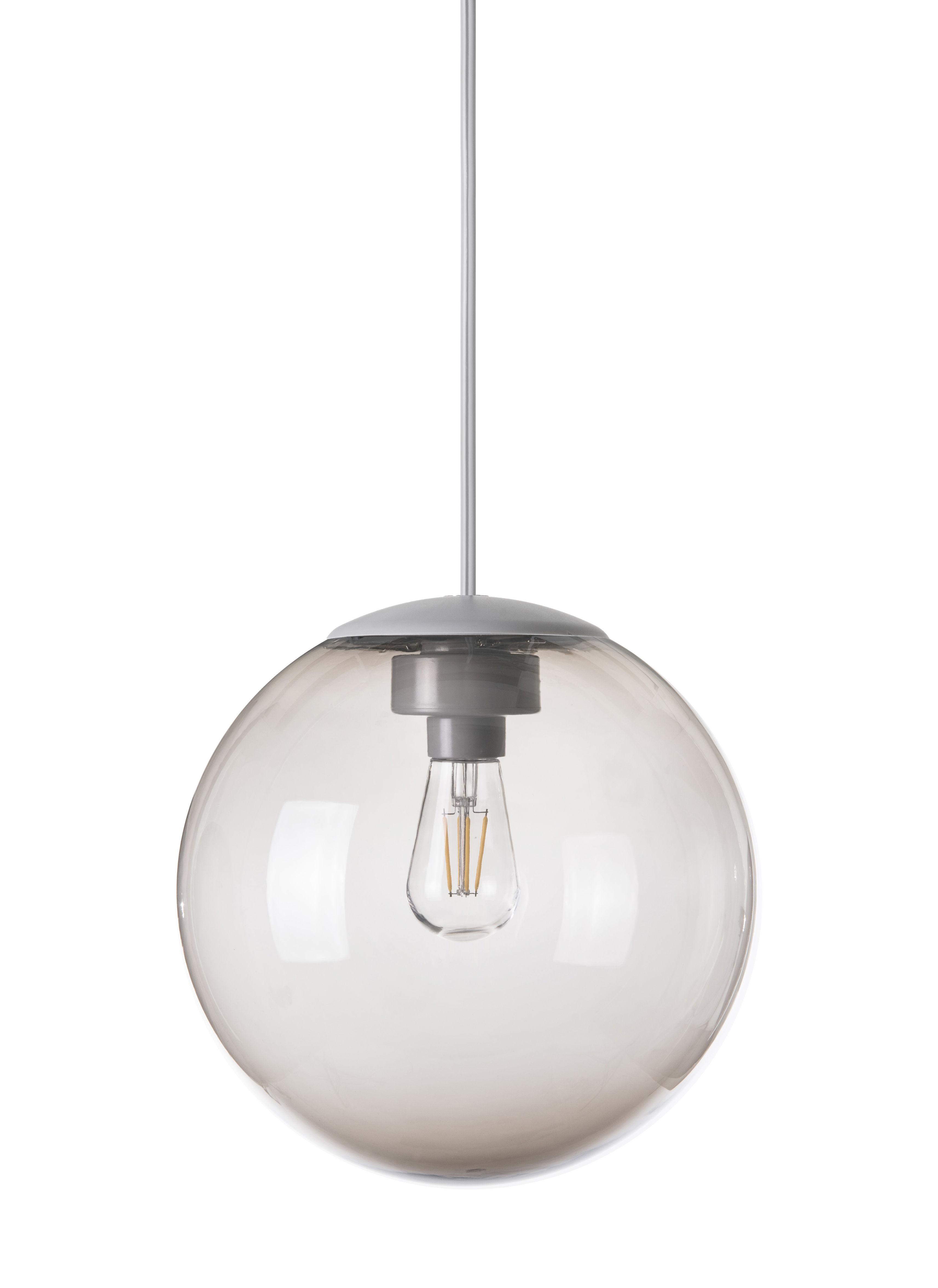 Lighting - Pendant Lighting - Spheremaker Pendant - Ø 25 cm by Fatboy - Taupe - PMMA