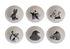 Animals Schale / 6er Set - Porzellan - Pols Potten