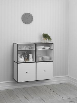 Frame Shelf With Door 49x49 Cm Light Grey By By Lassen Made In