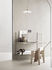 String® System Shelf - / Perforated metal, HIGH edge - L 78 x D 20 cm by String Furniture