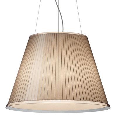 Illuminazione - Lampadari - Sospensione Choose Mega di Artemide - Beige / Incandescente - Carta pergamena, policarbonato