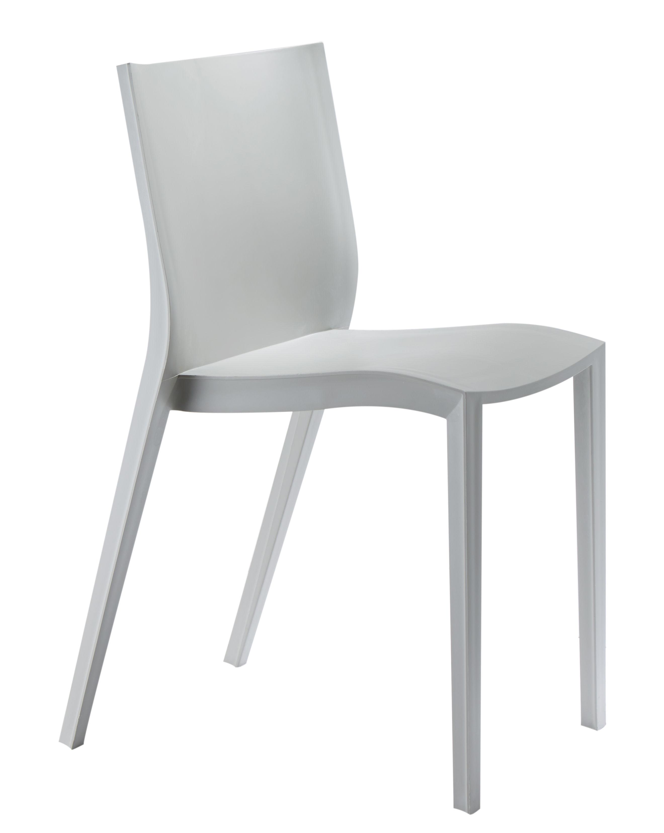 Charmant ... Möbel   Stühle   Slick Slick Stapelbarer Stuhl Von Philippe Starck   XO    Grau