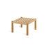 Table basse Pevero / 50 x 50 cm - Teck - Unopiu