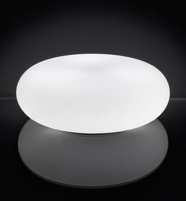 Lighting - Table Lamps - Itka Table lamp - Ø 50 cm by Danese Light - White - Ø 50 cm - Glass, Metal