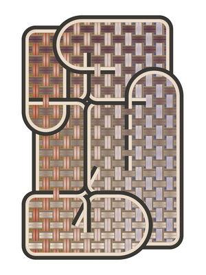 Déco - Tapis - Tapis Tangle - Medan / 194 x 280 cm - Moooi Carpets - Medan / Noir - Polyamide