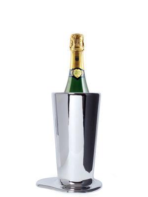 Decoration - Vases - Puddle Small Vase - Vase/bottle holder H 27 cm by Skitsch - H 27 cm - Nickel - Polished brass