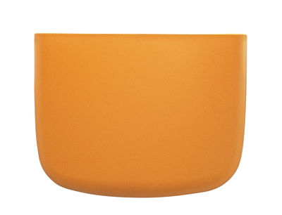 Decoration - Children's Home Accessories - Pocket 2 Wall storage by Normann Copenhagen - Golden Yellow - Polypropylene