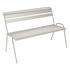 Monceau Bench with backrest - / 2 to 3 seats - L 116 cm by Fermob