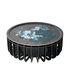 Medusa Large Coffee table - / Ø 65 x H 27 cm - Detachable top by Ibride
