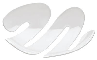 Coupe à fruits Eve / Corbeille - Ø 34 cm - Koziol blanc en matière plastique