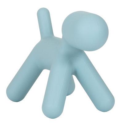 Décoration Puppy Large / L 69 cm - Magis Collection Me Too bleu en matière plastique