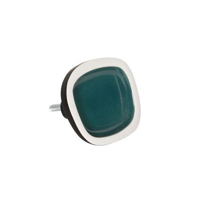 Mobilier - Portemanteaux, patères & portants - Patère Sicilia Small / Céramique - L 8 cm - Maison Sarah Lavoine - Bleu Sarah - Céramique