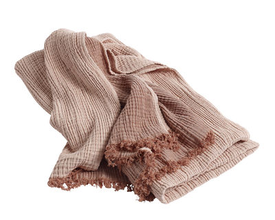 Plaid Crinkle / Coton - 210 x 150 cm - Hay pêche en tissu