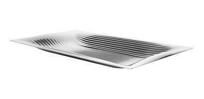Plateau Megaptera / 45 x 26 cm - Alessi métal brillant en métal