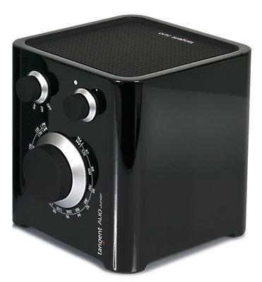 Accessories - Alarm Clocks & Travel Radios - Alio Junior Radio - AM-FM by Tangent - Black - Lacquered MDF, Rubber