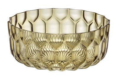 Arts de la table - Saladiers, coupes et bols - Saladier Jellies Family / Ø 32 cm - Kartell - Vert - Technopolymère thermoplastique