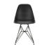 Sedia DSR - Eames Plastic Side Chair - / (1950) - Gambe nere di Vitra