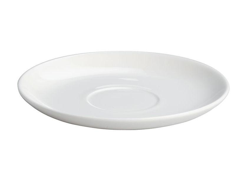 Arts de la table - Tasses et mugs - Soucoupe pour tasse à moka All-time - A di Alessi - Soucoupe tasse à moka - Blanc - Porcelaine Bone China