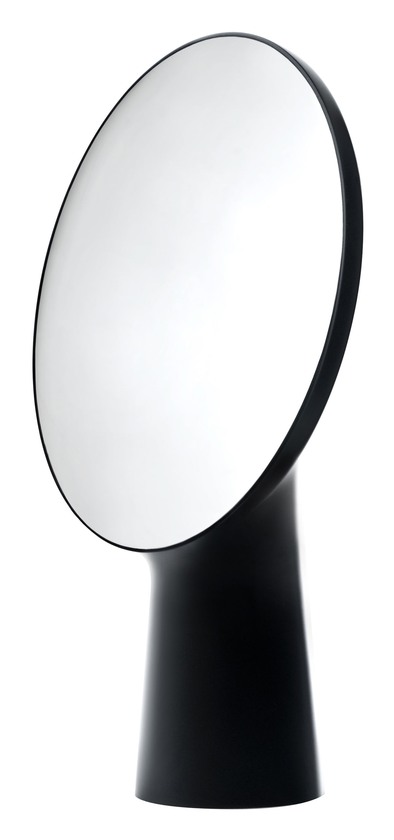 Möbel - Spiegel - Cyclope Stellspiegel H 46,5 cm - Moustache - Schwarz - Terrakotta