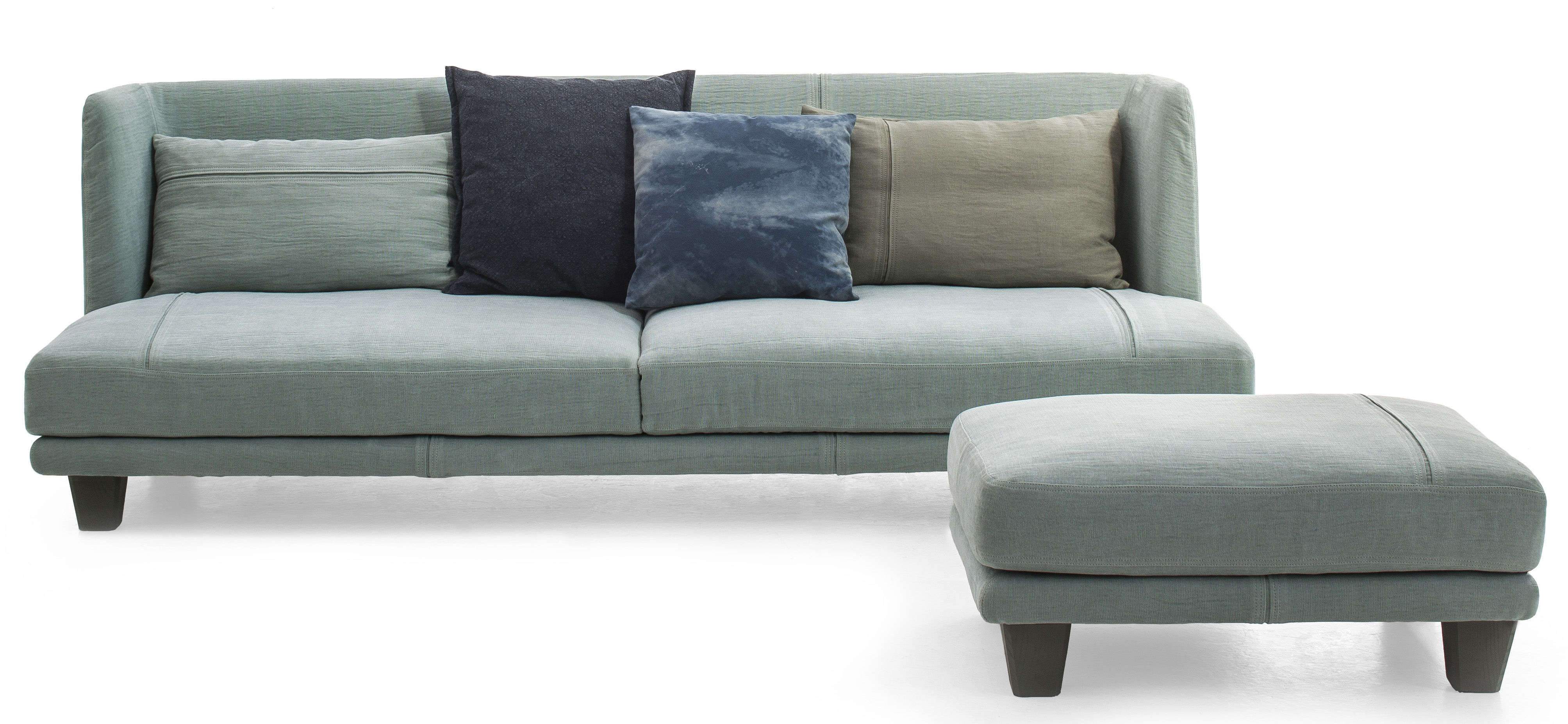 Furniture Sofas Gimme More Straight Sofa L 240 3 Seaters By Sel
