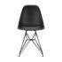 DSR - Eames Plastic Side Chair Stuhl / (1950) - Schwarze Beine - Vitra
