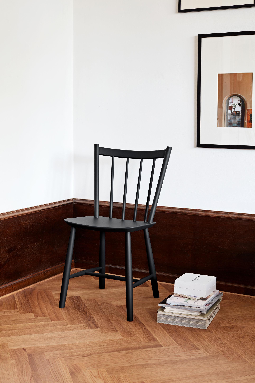 j41 stuhl holz schwarz by hay made in design. Black Bedroom Furniture Sets. Home Design Ideas