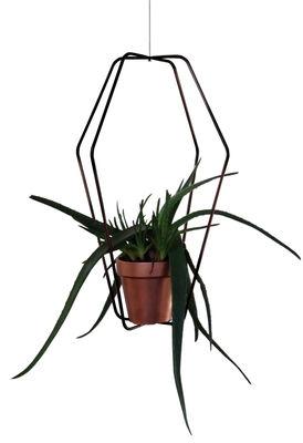Support pour pot de fleurs Daniel n°1 / Indoor - Ø 42 x H 62 cm - Compagnie noir en métal