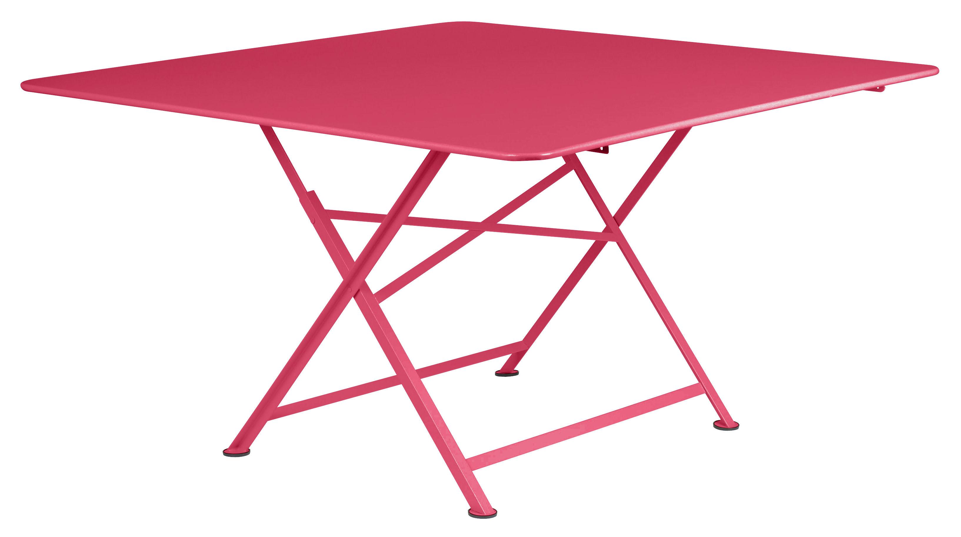 Table pliante Cargo Fermob - Rose | Made In Design