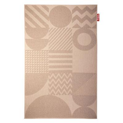 Déco - Tapis - Tapis d'extérieur Carpretty Grand Pop Up / 200 x 290 cm - Polypropylène tissé - Fatboy - Sable - Polypropylène tissé (tissage plusieurs couches)