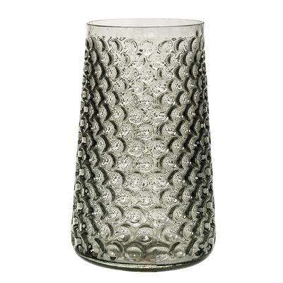 Déco - Vases - Vase / H 30,5 cm - Bloomingville - Gris - Verre