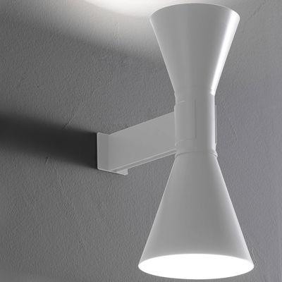 Illuminazione - Lampadari - Applique de Marseille by Le Corbusier - / Riedizione 1954 di Nemo - Bianco - Metallo