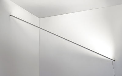 Illuminazione - Lampade da parete - Applique Flashit / LED  - L 150 cm - Artemide - Bianco - Acciaio, Alluminio