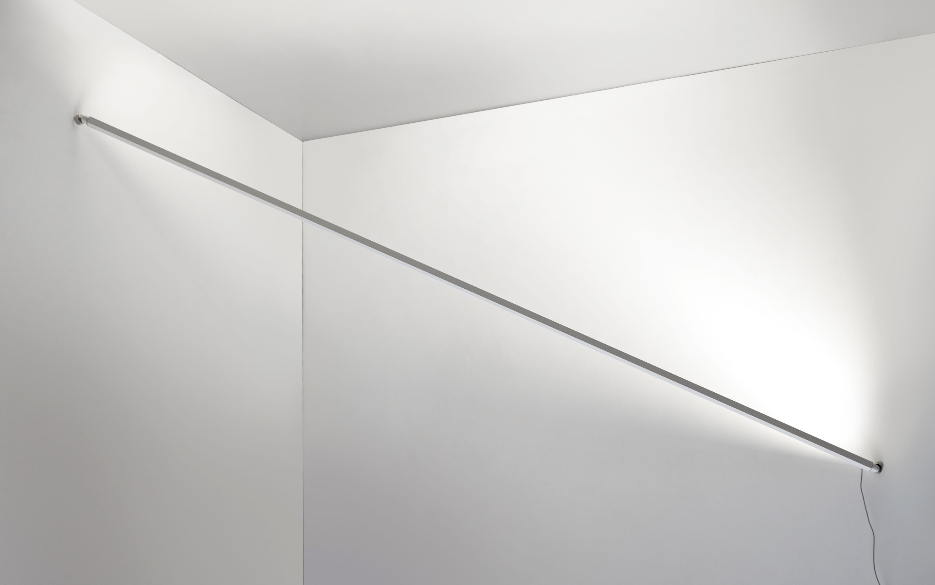 Luminaire - Appliques - Applique Flashit / LED  - L 150 cm - Artemide - Blanc - Acier, Aluminium