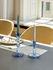 Candela lunga Twist - / Set di 6 - H 19 cm di Hay