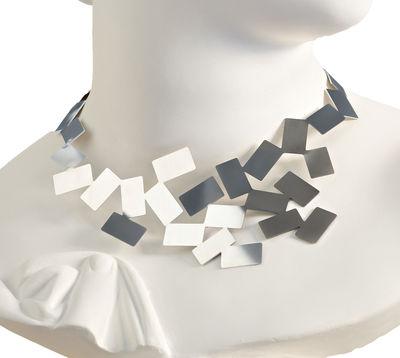 Accessoires - Bijoux, porte-clés... - Collier Fiato sul collo - Alessi - Acier brillant - Acier inoxydable brillant