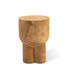 Pile End table - / End table - Hand-sculpted wood by Pols Potten