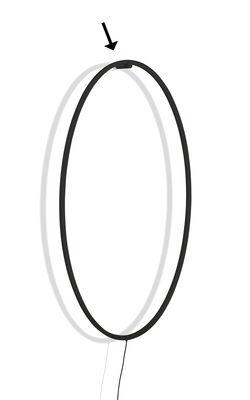 Image of Gancio da parete - / Per Lampada Ellisse di Nemo - Oro/Metallo - Metallo