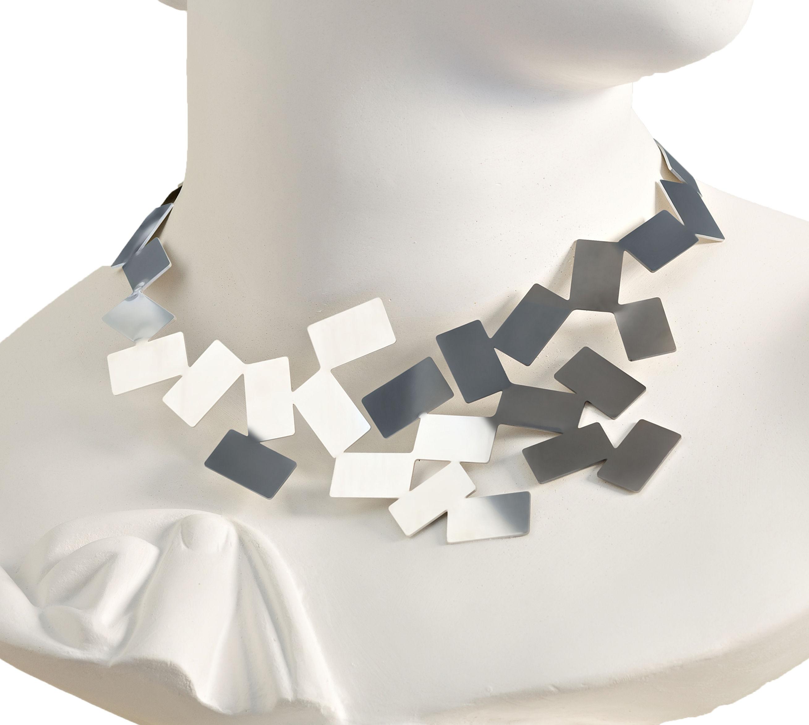 Accessoires - Schmuck - Fiato sul collo Halskette - Alessi - Stahl glänzend - Acier inoxydable brillant