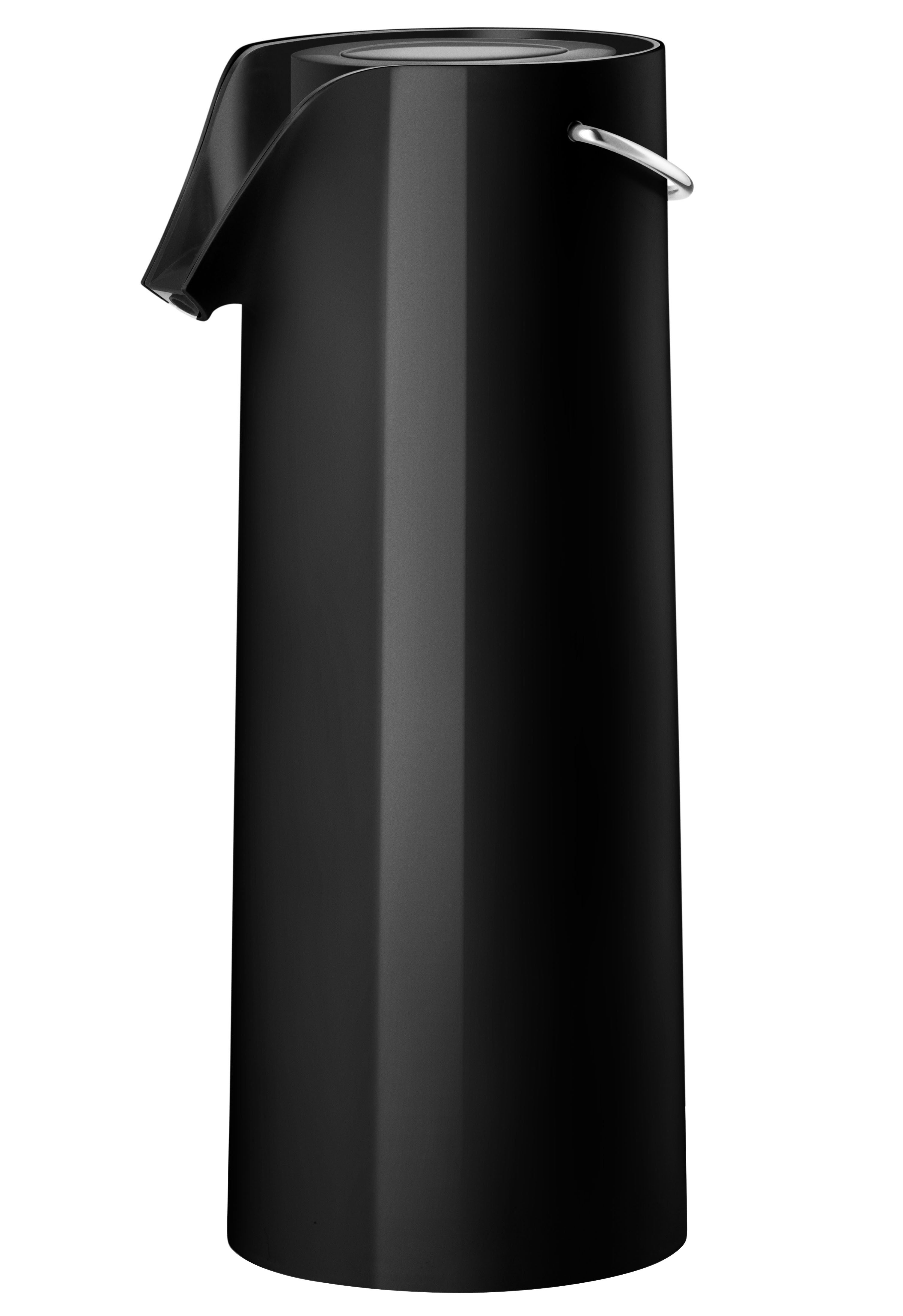Tableware - Tea & Coffee Accessories - Insulated jug - Pump vacuum - 1.8L by Eva Solo - Black - ABS, Glass, Polypropylene