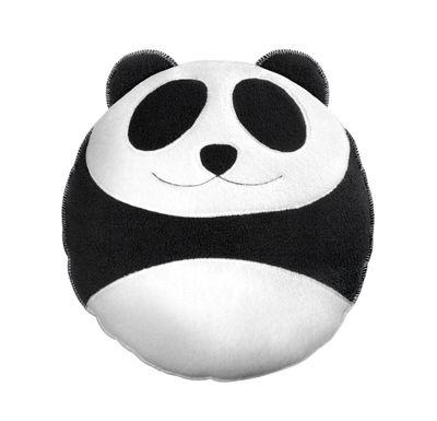 Wang le panda Kissen / 40 x 40 cm - Pa Design - Weiß,Schwarz