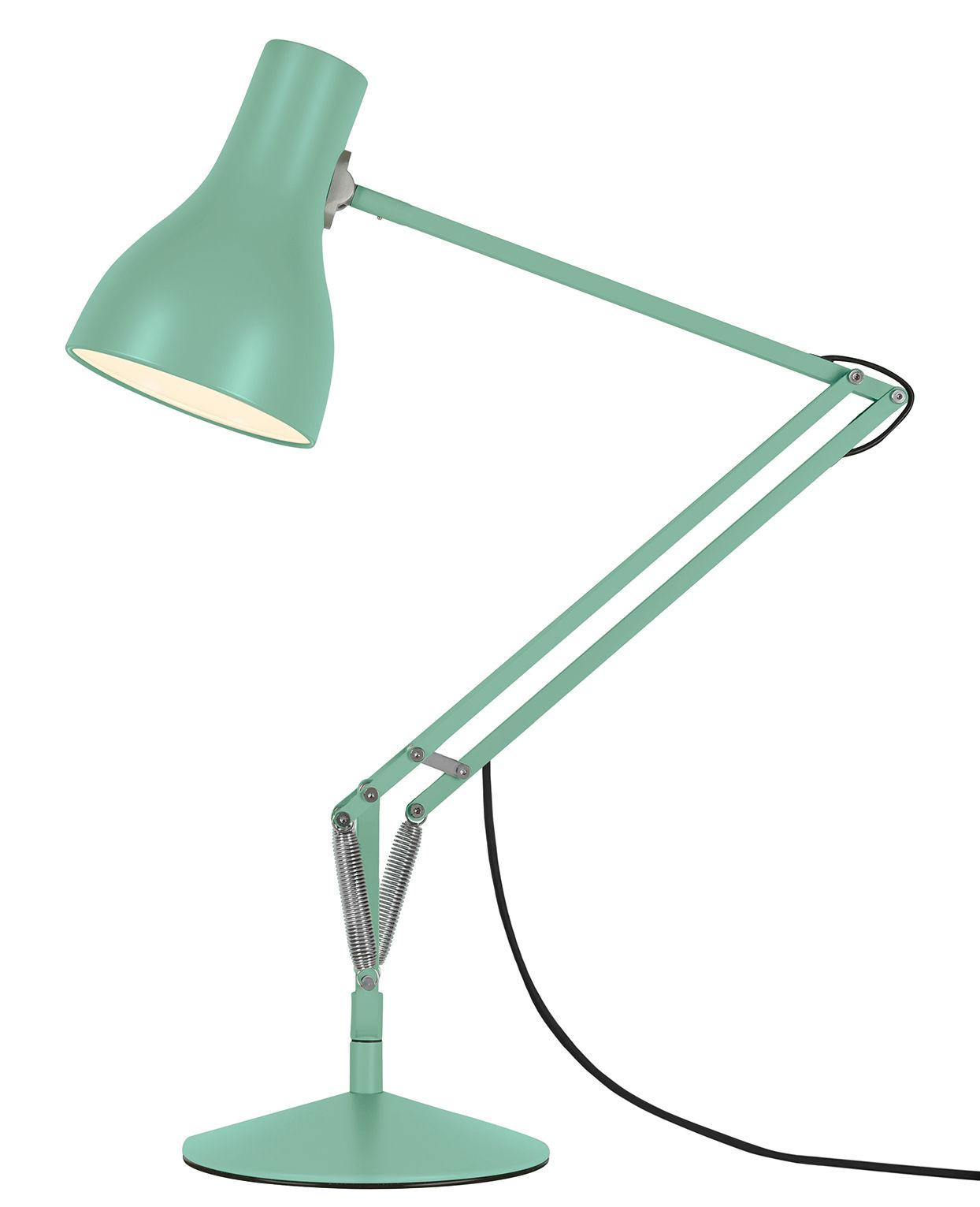 Lampada da tavolo type 75 di anglepoise verde made in design for Lampada da tavolo verde