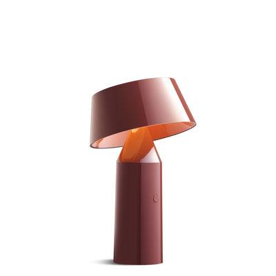 Bicoca Lampe ohne Kabel - Marset - Rot