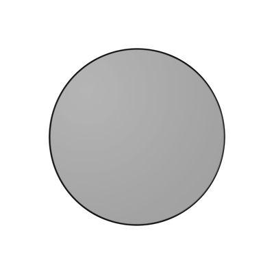 Miroir mural Circum XS / Ø 50 cm - AYTM gris/noir en bois