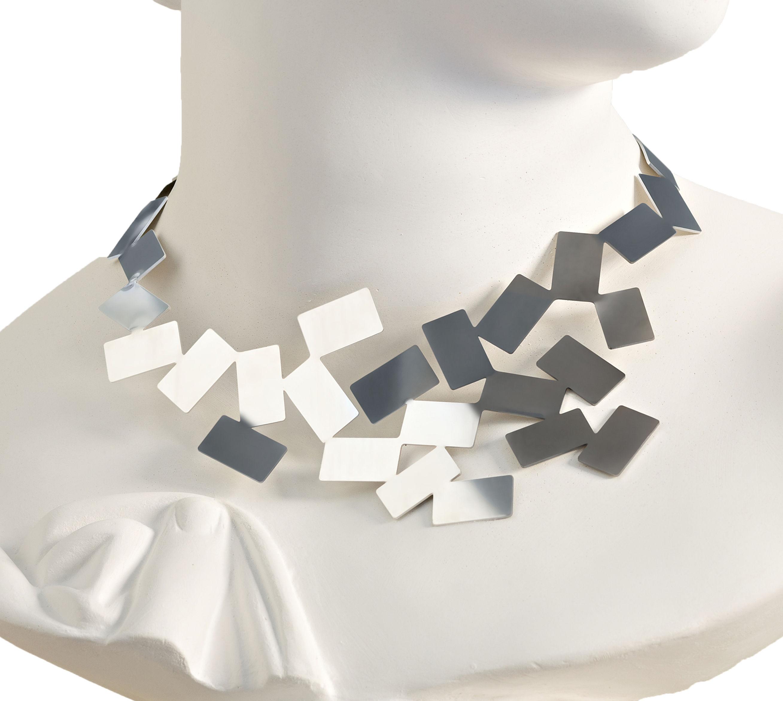 Accessories -  Jewellery - Fiato sul collo Necklace - Necklace by Alessi - Mirror polished steel - Glossy stainless steel