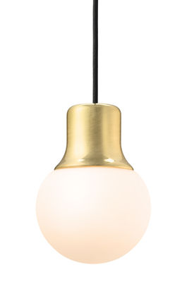 Lighting - Pendant Lighting - Mass Light Pendant by And Tradition - Brass -  Verre acidé opalin, Lacquered brass