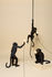 Monkey Hanging Pendant - Outdoor / H 80 cm by Seletti