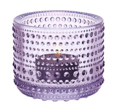 Photophore Kastehelmi / H 6,4 cm - Iittala lavande en verre