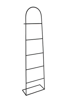 Mobilier - Compléments d'ameublement - Porte-serviettes Aubin / Porte-serviettes - Métal - Hartô - Noir - Métal laqué