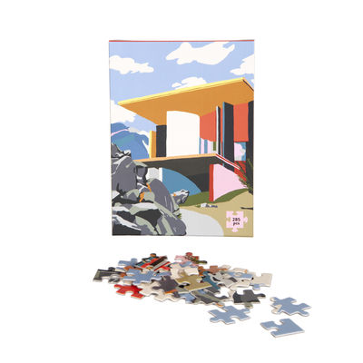 Decoration - Children's Home Accessories - Yoro Park Puzzle - / 285 items by Slowdown Studio - Multicoloured - Cardboard, Paper