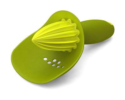 Cucina - Utensili da cucina - Spremiagrumi Catcher - con filtro integrato di Joseph Joseph - Verde - Gomma, Polipropilene